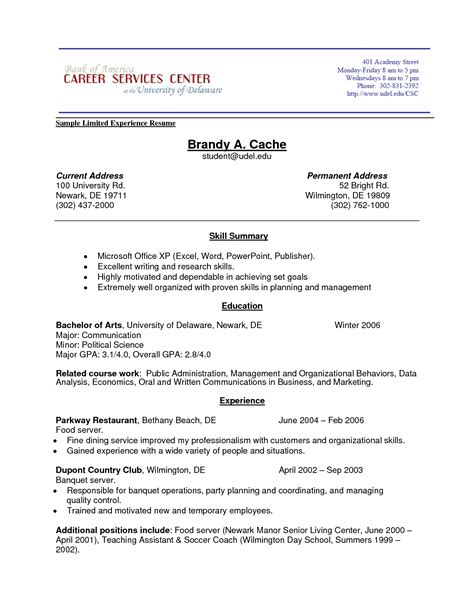 mesmerizing no job history resume template for your no work