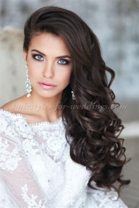 bridal hairstyles down long wedding hairstyles hair down wedding hairstyle