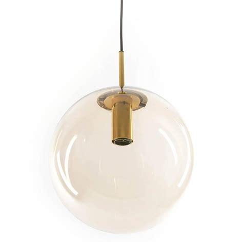 Smoked Glass Pendant Light One Of Ten Limburg Globe Pendant Lights Brass And Smoked Glass For Sale At 1stdibs