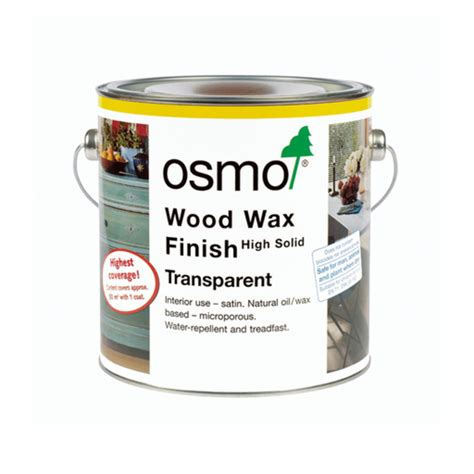 osmo wood wax finish transparent antique oak 2 5l osmo hardwax oil
