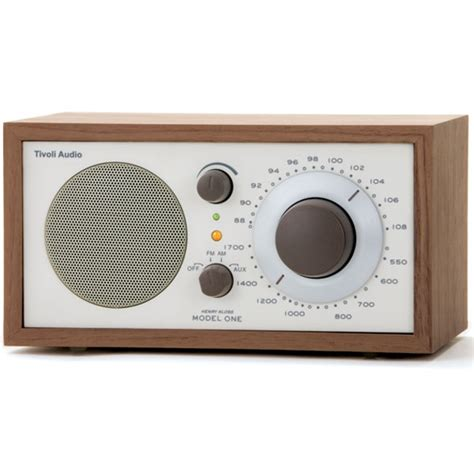radio da tavolo tivoli audio radio da tavolo m1cla model one walnut