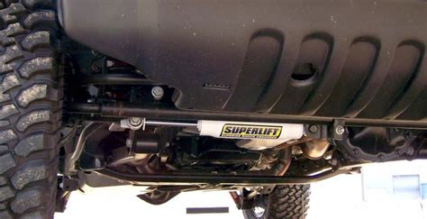 Replacing Steering Stabilizer Jeep Wrangler Superlift Suspension 92085 Superlift Oem Replacement