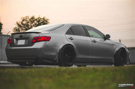 widebody toyota toyota camry v40 widebody side
