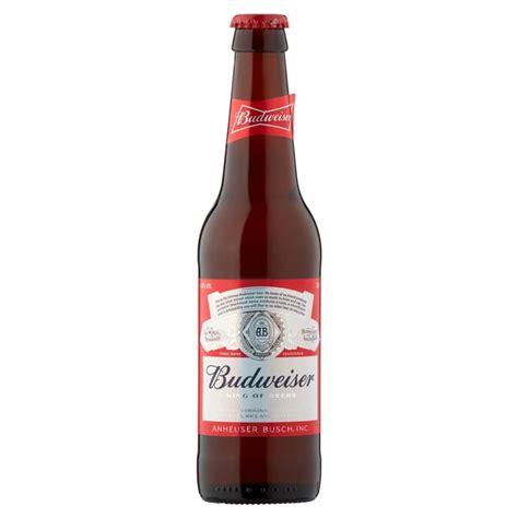 budweiser beer budweiser premium lager 24x 330ml drinksupermarket