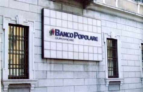 azioni banco popolare verona banco popolare i manager rinunciano a bonus e sistema