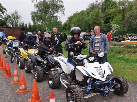 Motorrad Tuning Karlsruhe by Quadmagic Adac Slalom 2010 Atv Magazin