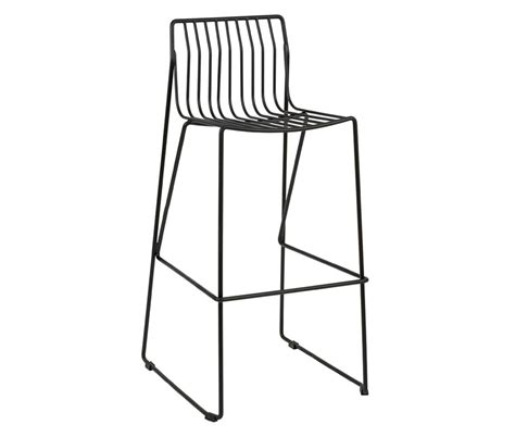 wire bar stools eddy bar stools steel wire frame with sled legs
