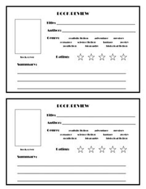 Book Review Card Template 1000 images about printables on teddy bears