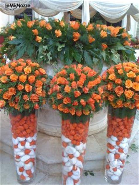 fiori arancioni per matrimonio foto 1 addobbi floreali location addobbi floreali