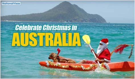 when do they celeldrate chrimesmas australyae how is celebrated in australia australia visa immigration information australia