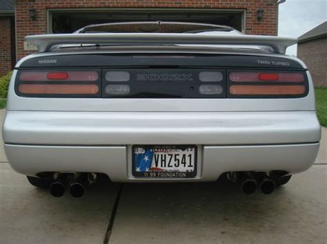 auto air conditioning repair 1995 nissan 300zx instrument cluster buy used 1995 nissan 300zx twin turbo in newburgh indiana united states for us 17 500 00