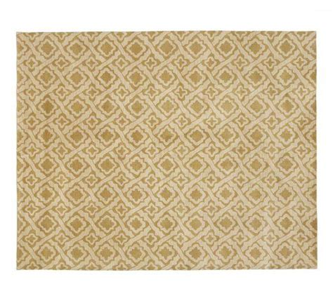Pottery Barn Kitchen Rugs Taupe Tile Pattern Rug