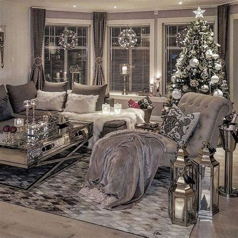 silver living room ideas 88 winter white christmas tree inspirations 88homedecor