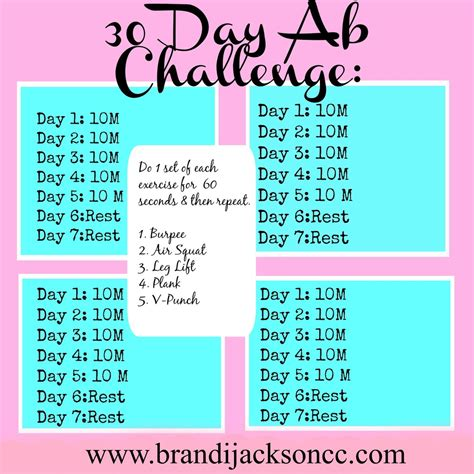 stomach 30 day challenge 30 day ab challenge tips for blasting belly get a