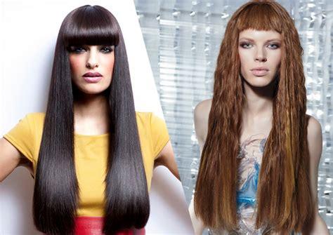 Wedding Hairstyles With Blunt Bangs by Chic Blunt Bangs Hair Styles