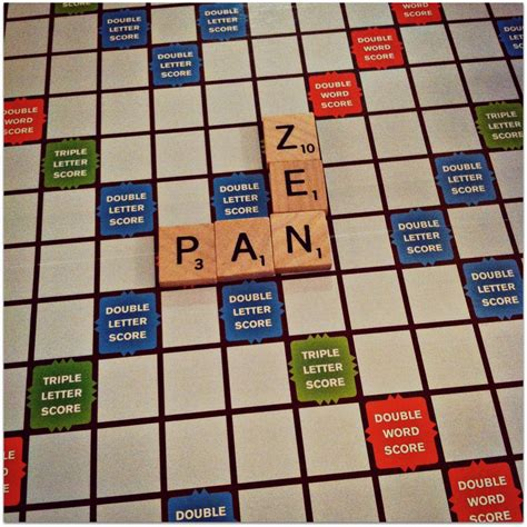 zen in scrabble just around joanna platt