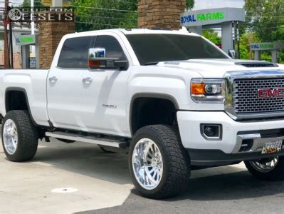 white gmc denali lifted with rbp wheels | autos post