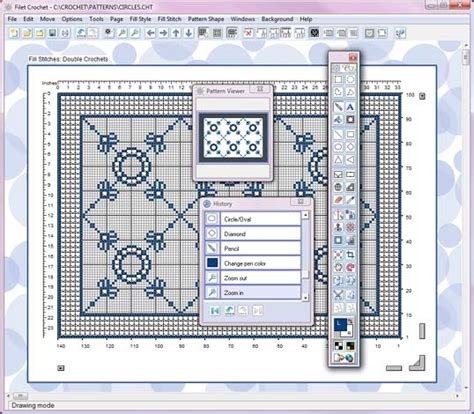pattern design software online crochet pattern software manet for