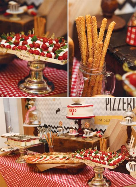 italian decorations for a themed pizza decorating themes table decorations