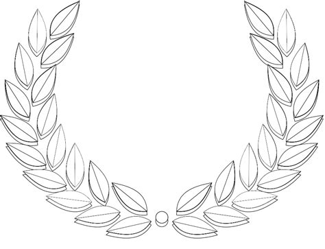 olive leaf coloring page olive leaf clipart clipartxtras