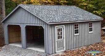 pine board batten garages rustic garages horizon