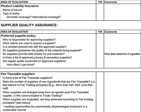 supplier audit schedule template quality audit program sle easebackup
