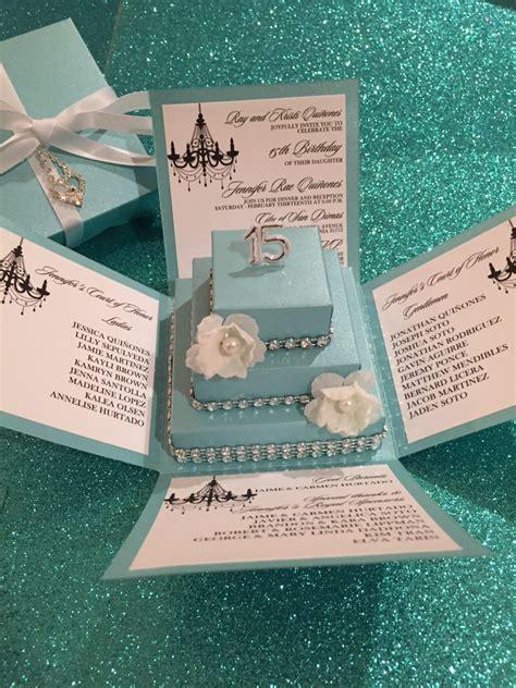 Wedding Invitation Box Kits by Blue Exploding Box W Square Cake Diy Kit Jinkys