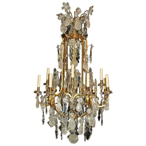 Antique Chandelier Crystals For Sale Antique Chandelier Rock Chandelier By Baccarat For Sale At 1stdibs
