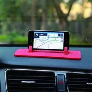 Dash Mat Phone Holder Car Mount Holder Silicone Pad Dash Mat Cell Phone Car
