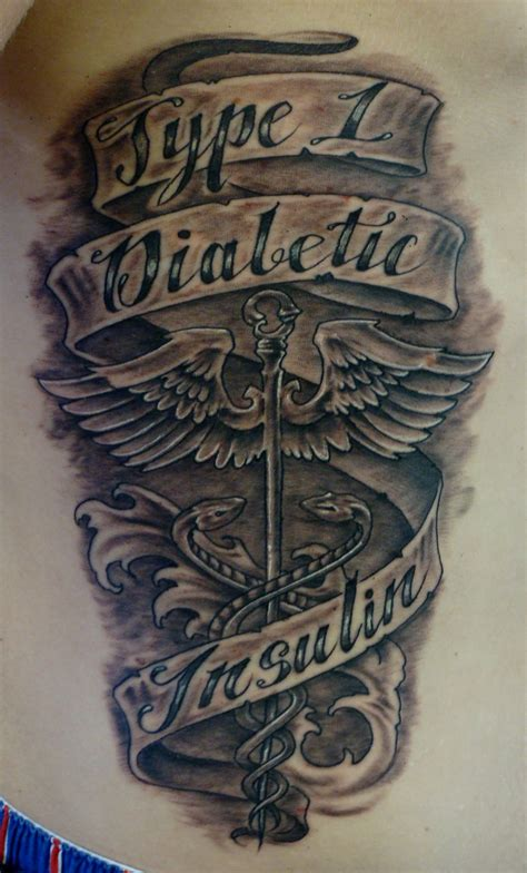 diabetic tattoo designs diabetic diabetes pictures to pin on