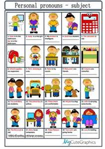 124 free esl personal pronouns worksheets