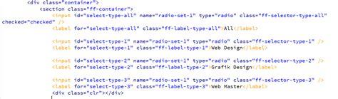 membuat artikel menggunakan html membuat fungsi filter menggunakan html dan css kursus