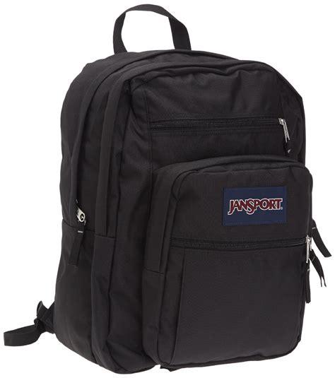 jansport big student backpack black tdn7 008 617931080089 ebay