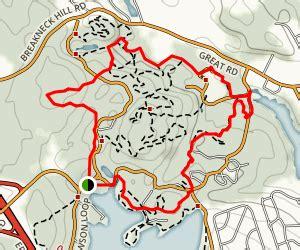 lincoln rhode island map lincoln woods trail rhode island maps 125 photos 150
