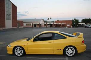 Acura Integra Type R 2000 Ca 2000 Acura Integra Yellow Type R 96 Toda Spoon