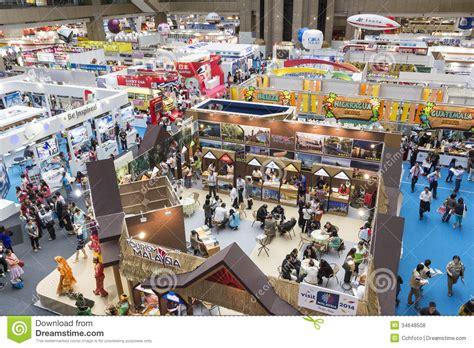 International Mba Fair by Tapei International Travel Fair Exhibition Editorial Stock