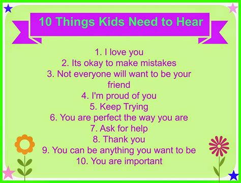 a few facts about blue you need to know before committing simply me 10 things kids need to hear