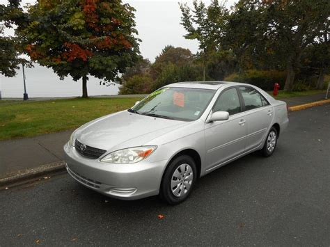 Toyota Camry 4 Cylinder 2002 Toyota Camry Le Auto Loaded 4 Cylinder Esquimalt