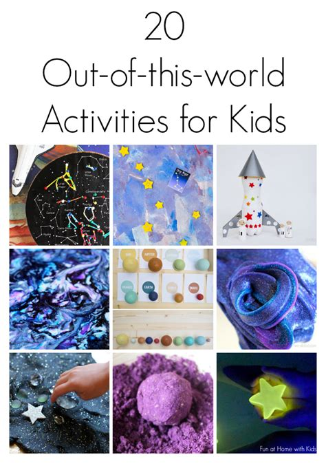 kindergarten activities on space 20 outer space themed activities for kids