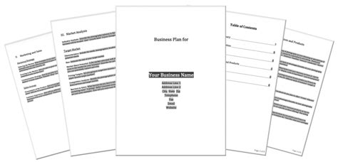 photography business plan template photographer s dream