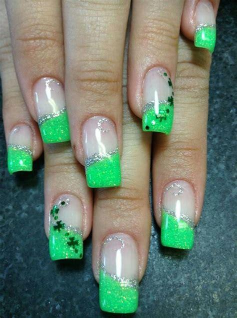 st pattern nails saint patrick s day nails nail art pinterest