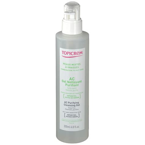 Ac Gel topicrem ac gel nettoyant purifiant shop pharmacie fr