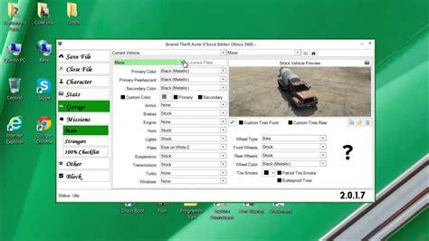 mod gta 5 save editor gta5 xbox360 come inserire le mod con gta 5 save editor