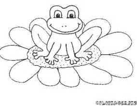 pad coloring page coloring pages of frog and pad cooloring