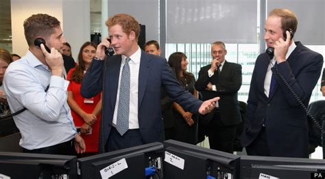 Trading Floor Chat by Prince William And Harry Become Stockbrokers To Raise 9 11