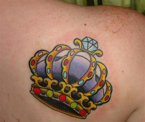 traditional crown tattoo traditional style crown my style