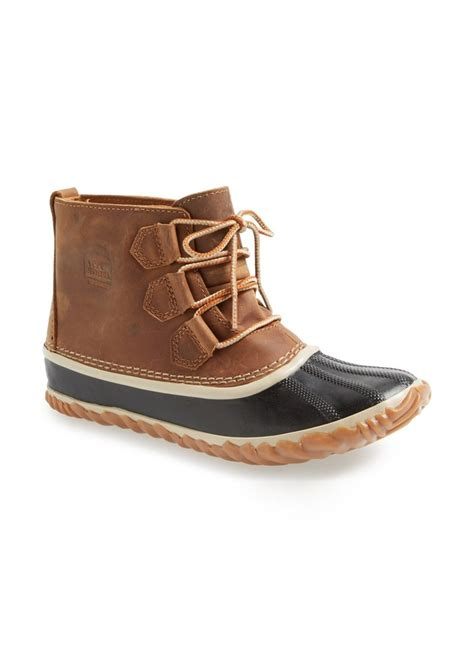 sorel sorel out n about leather boot shoes shop it to me