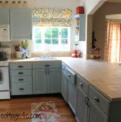 Painting Wood Kitchen Cabinets White by Painted Kitchen Cabinets Cottage4c