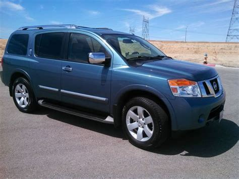 automobile air conditioning service 2008 nissan armada spare parts catalogs buy used 2008 nissan armada sl in victorville california united states for us 27 985 00