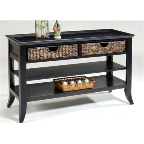 sectional sofa table liberty furniture rubbed black sofa table on sale
